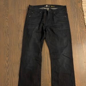 Barely worn men's dark seven jeans